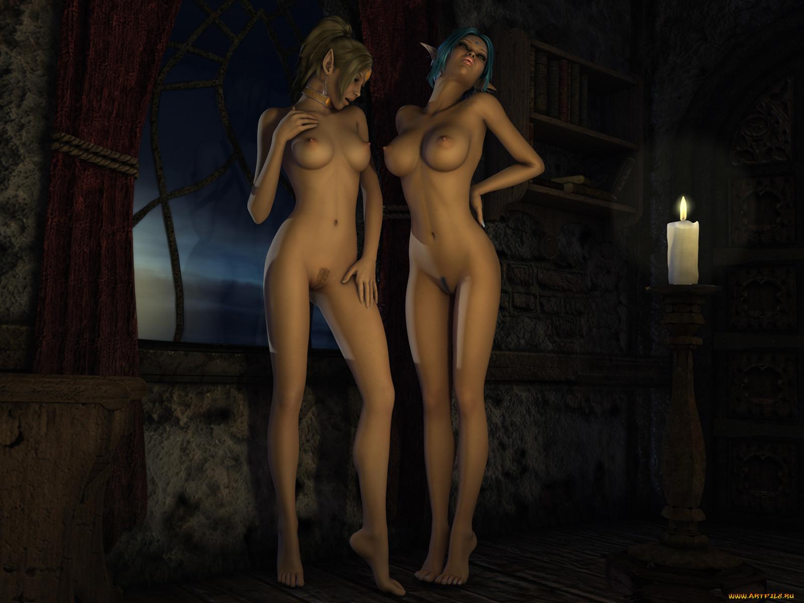 Картинки эротика эльфы
